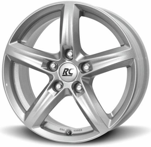 Alu disk BROCK RC24 6.5x16, 4x100, 63.4, ET48 Kristallsilber (KS)