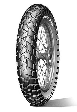 Letní pneumatika Dunlop K460 F 90/100R19 55P
