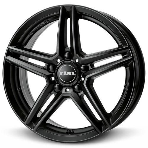 Alu disk RIAL M10X 8.5x20, 5x112, 66.5, ET40 racing-black