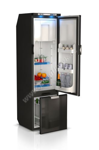 Vestavná kompresorová chladnička Vitrifrigo SLIM150 12/24V 140L, externí chladící jednotka