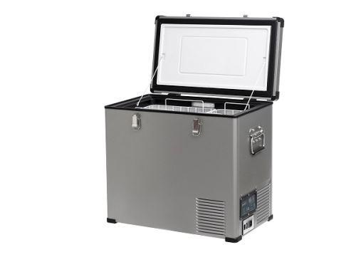 Přenosná kompresorová autochladnička Indel B TB60 Steel 12/24/230V 60 litrů