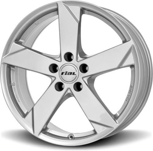 Alu disk RIAL Kodiak 5.5x14, 4x100, 56.6, ET39 polar-silver