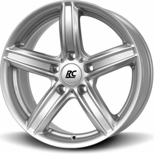 Alu disk BROCK RC21ECE 8x18, 5x120, 72.6, ET32 Kristallsilber (KS)