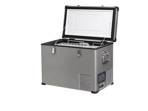 Přenosná kompresorová autochladnička Indel B TB46 Steel 12/24/230V 45 litrů