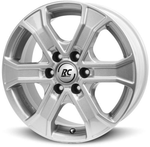 Alu disk BROCK RC31 7x16, 6x139,7, 93.1, ET55 Kristallsilber (KS)