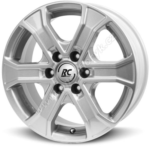 Alu disk BROCK RC31 8x18, 6x139,7, 93.1, ET55 Kristallsilber (KS)