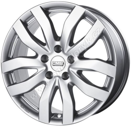 Alu disk CMS C22 7x16, 5x112, 57.1, ET45 Racing Silver