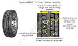 Celoroční pneumatika Goodyear REGIONAL RHD II 9.5/R17.5 129/127M