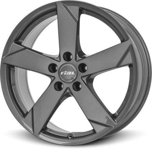 Alu disk RIAL Kodiak 5.5x14, 4x100, 56.6, ET39 graphite