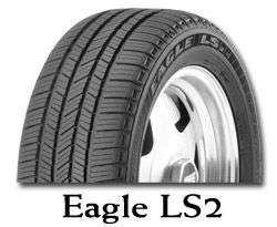 Celoroční pneumatika Goodyear EAGLE LS2 225/55R18 97H