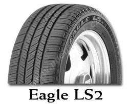 Celoroční pneumatika Goodyear EAGLE LS2 255/55R18 109H XL FP VW