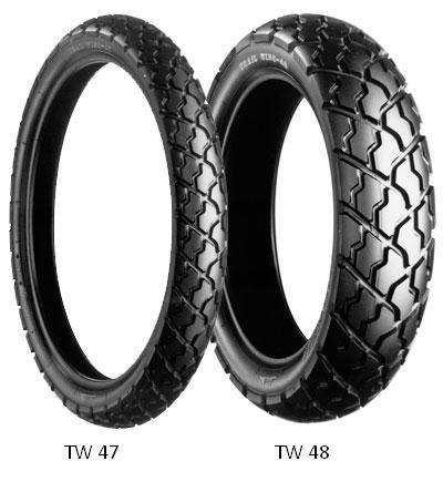 Letní pneumatika Bridgestone TW47 F 90/90R21 54S