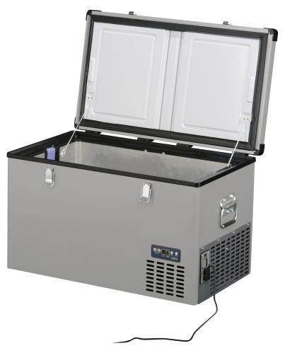 Přenosná kompresorová autochladnička Indel B TB74 Steel 12/24/230V 74 litrů